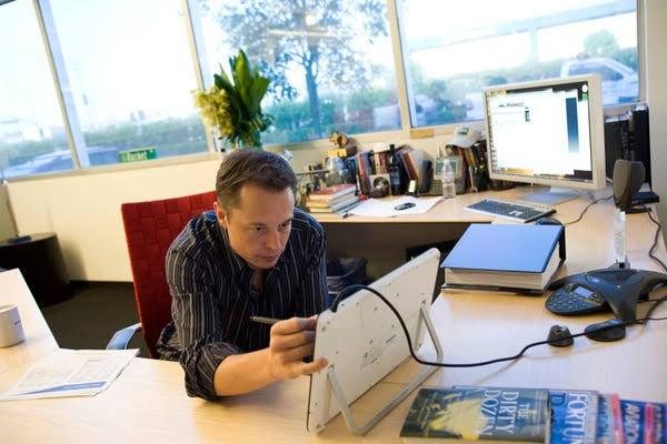 How Does Elon Musk study?